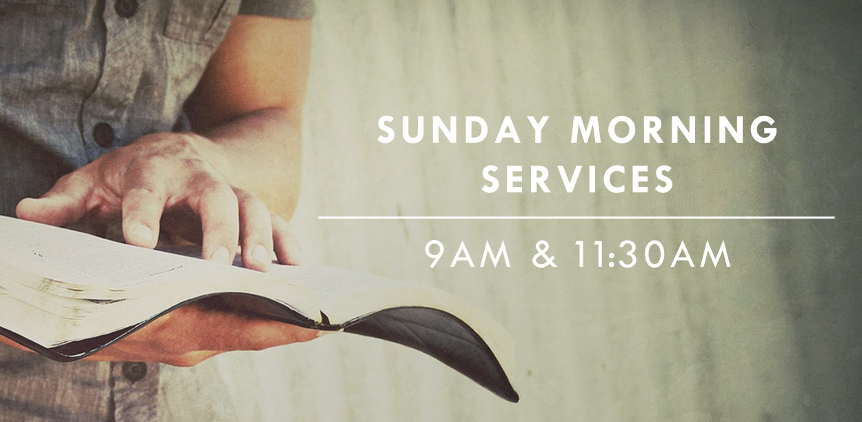 Main Image Sunday Services