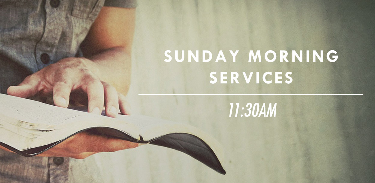 Main Image Sunday Services1130